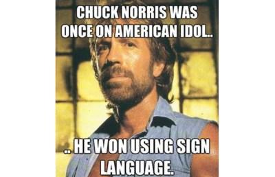 Chuck American Idol