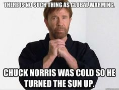 chuck global warming