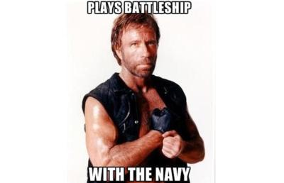 chuck norris and the navy