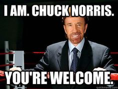 chuck welcome