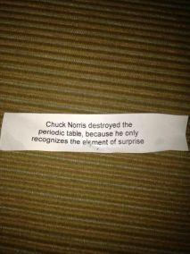 norris element of surprise
