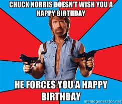 norris happy bday