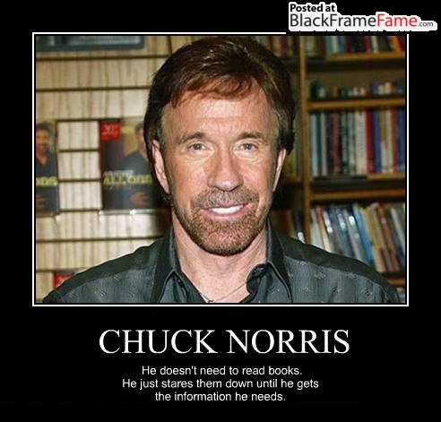 Chuck Norris Meme Page | Justin Swapp