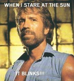 norris star at sun