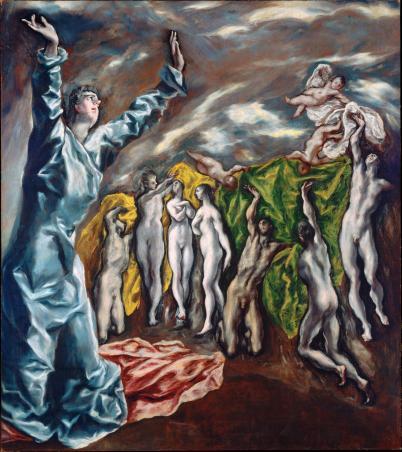 El Greco 5th Seal 1610