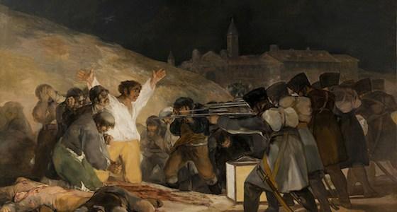 Goya's reaction to Napoleon