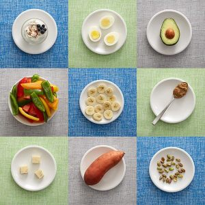 100 calorie servings of foods