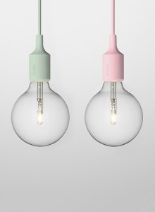 Ordinary bulb in unconventional colours