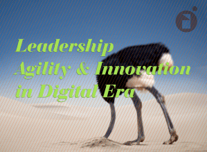 Leadership agility and innovation in digital era