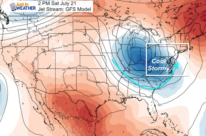 Pattern Change Brings Rain This Weekend And Next Week – Just In Weather