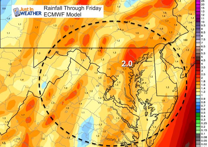 flood watch thursday into friday after warm up possible christmas