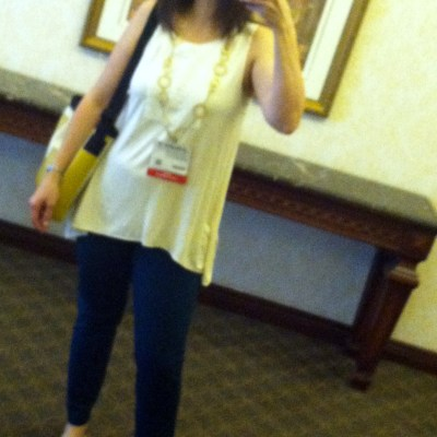 Blogher12: What I wore