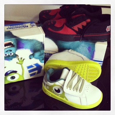 Cool Character Shoes by Etnies: Monsters University!