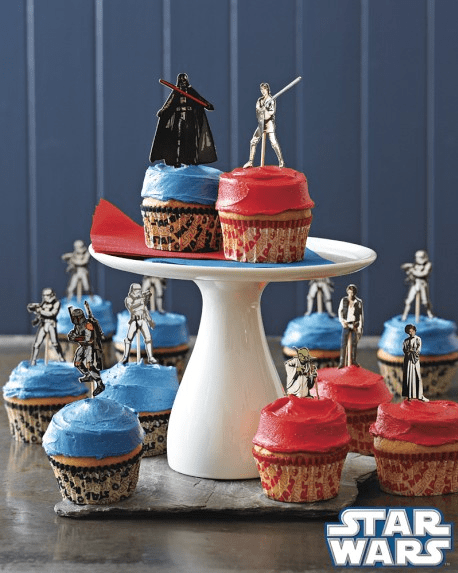 star wars cupcake kit, lilkidthings, star wars weekends at home
