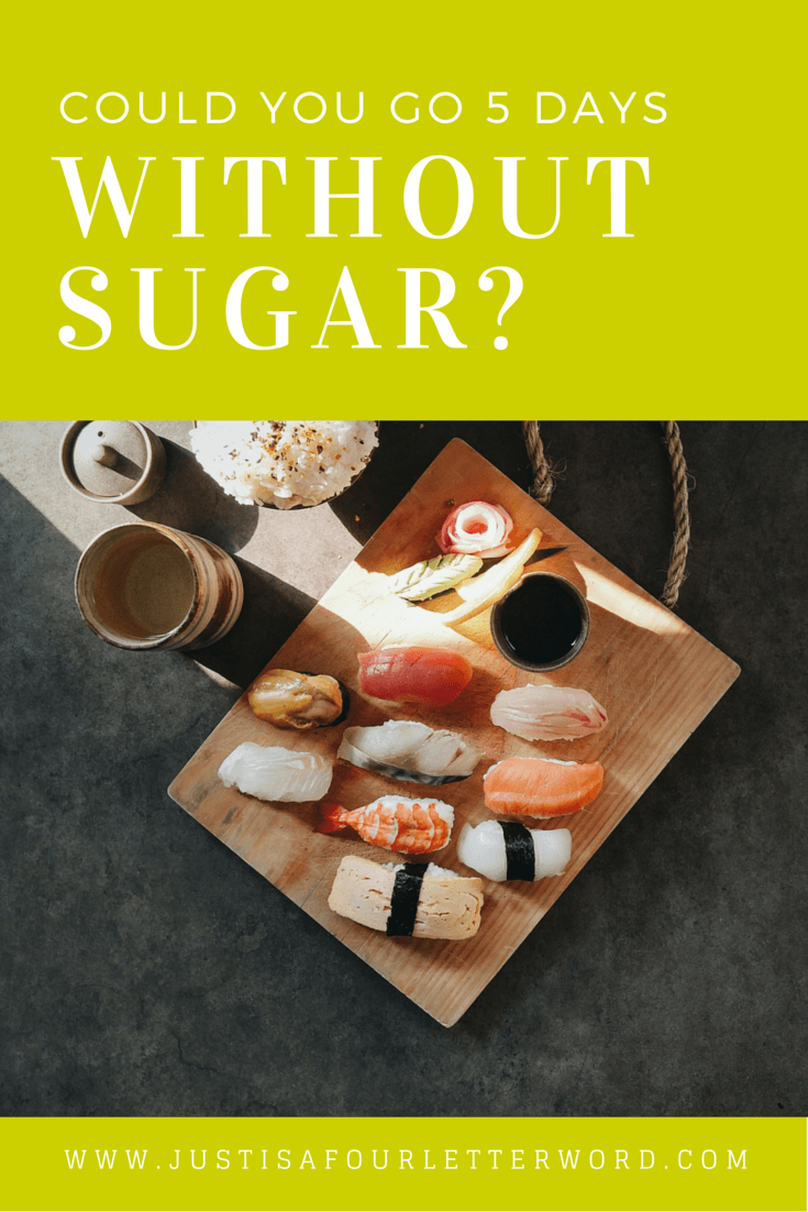 Could you go 5 days without added sugar? I took the no sugar challenge and learned a lot about diet, meal and snack recipes and benefits of eating clean. It wasn't as hard as I expected!