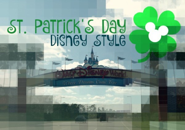 st. patrick's day, disney world, st. patrick's day at disney