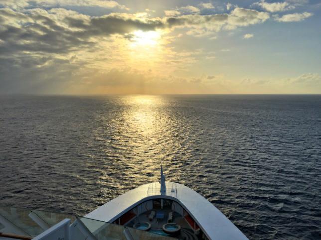 Disney Cruise Line Sailing away