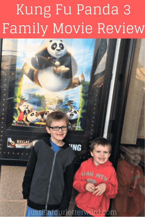 Check out our Kung Fu Panda 3 family movie review!