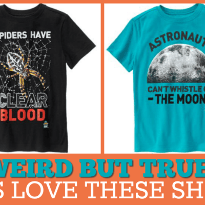 8 Great Summer Tees for Curious Kids