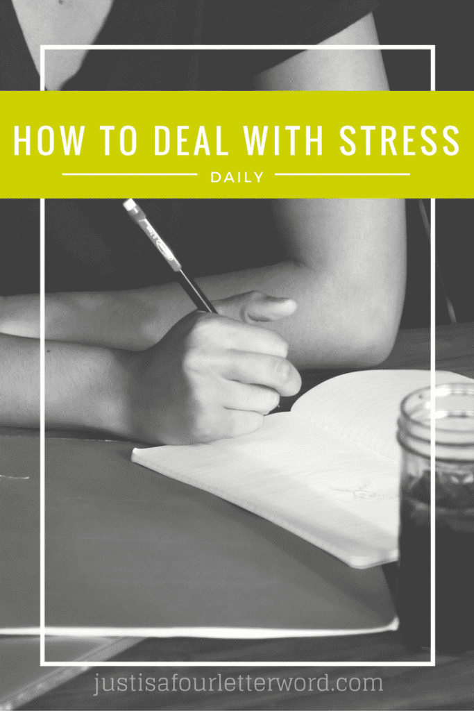 How to Deal with Stress both at home and professionally