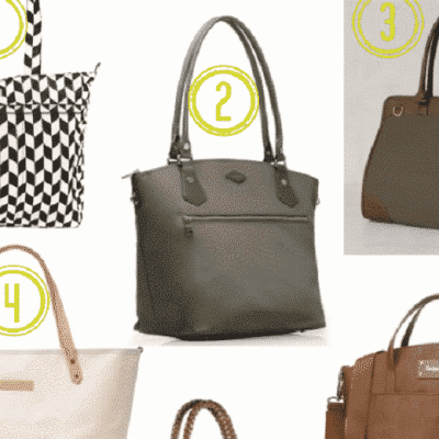 9 Diaper Bags You'll Love Bringing to the Office