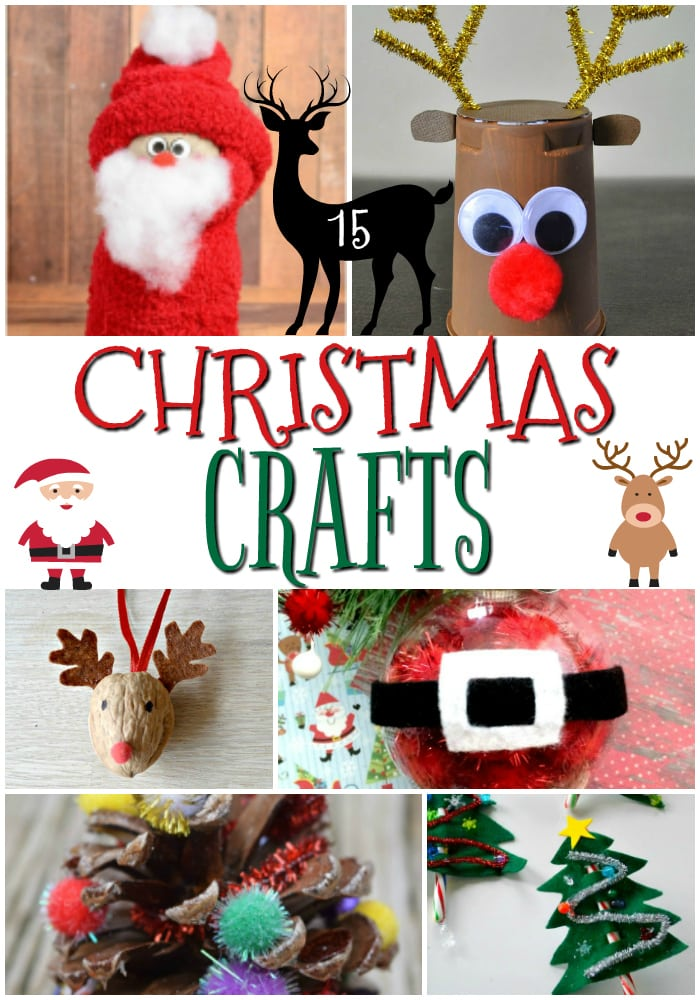 Simple Christmas Craft ideas to make with kids. Great for class projects, teacher gifts or DIY ornaments and holiday decorations at home!