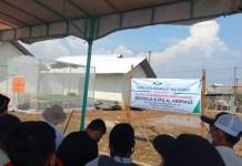 Peletakan Batu Pertama Mushola Al-Firdaus Tambakrejo