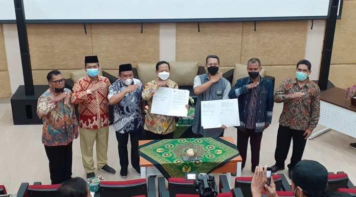 Fakultas Syari'ah dan Hukum Tandatangani MoU Dengan Juleha Jawa Tengah