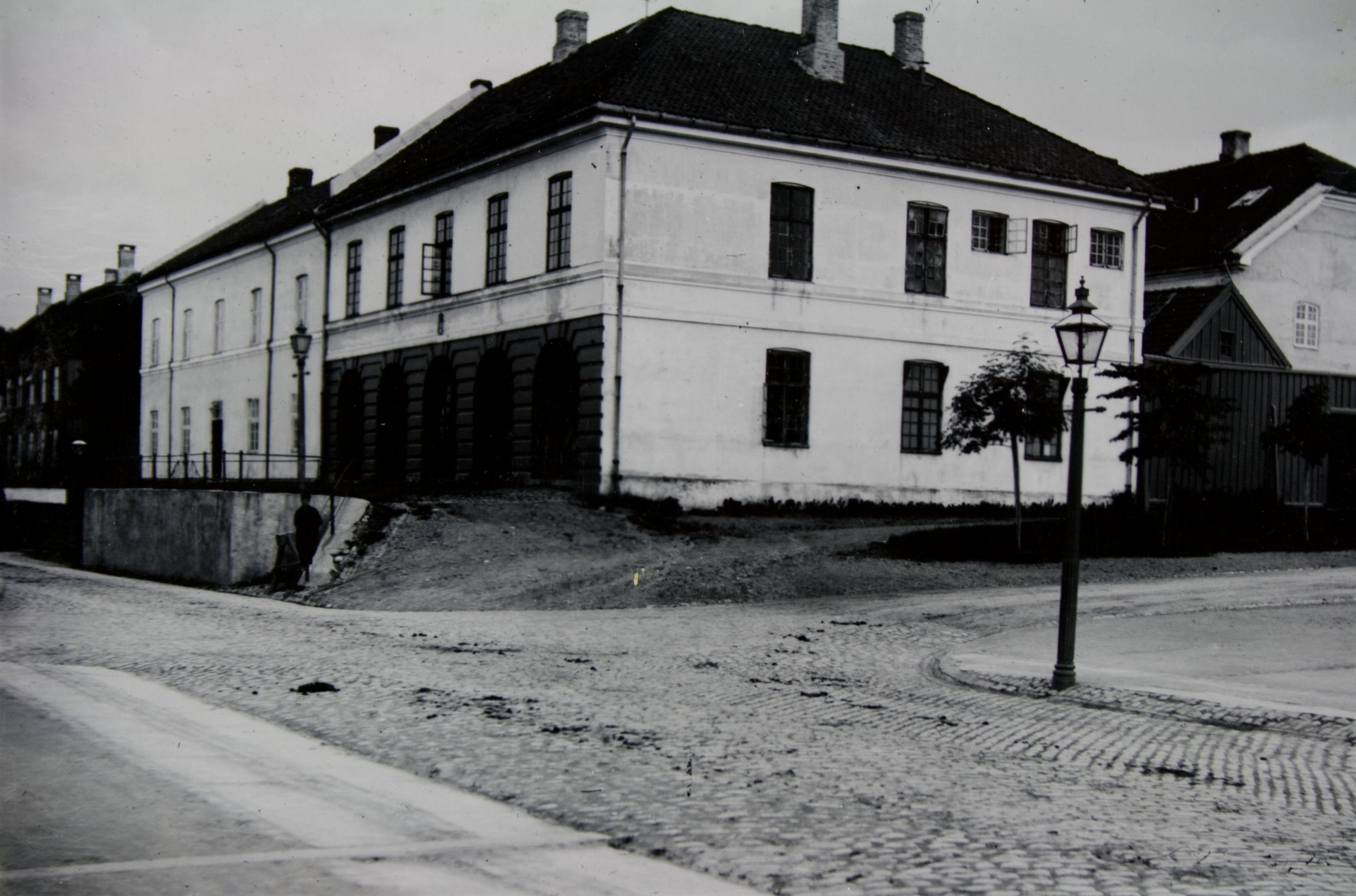 Skansevakten på 1930-tallet