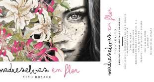 madreselvas en flor rosado