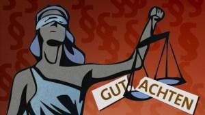 Gerichtsgutachten - sind zumeist Gefälligkeitsgutachten für das Gericht und die beklagte Versicherung!