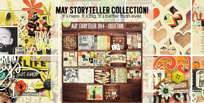 iNSD weekend and May Storyteller Collection