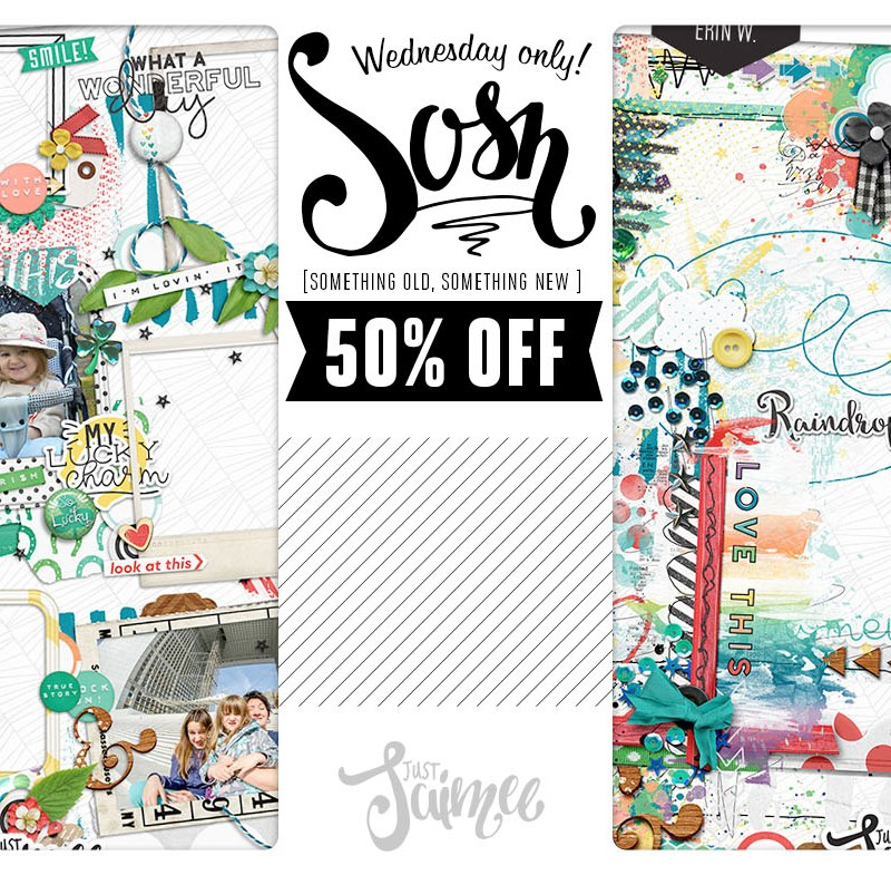 FREEBIE + 50% New A Stacked Mess & Frames Storyteller March Add-ons