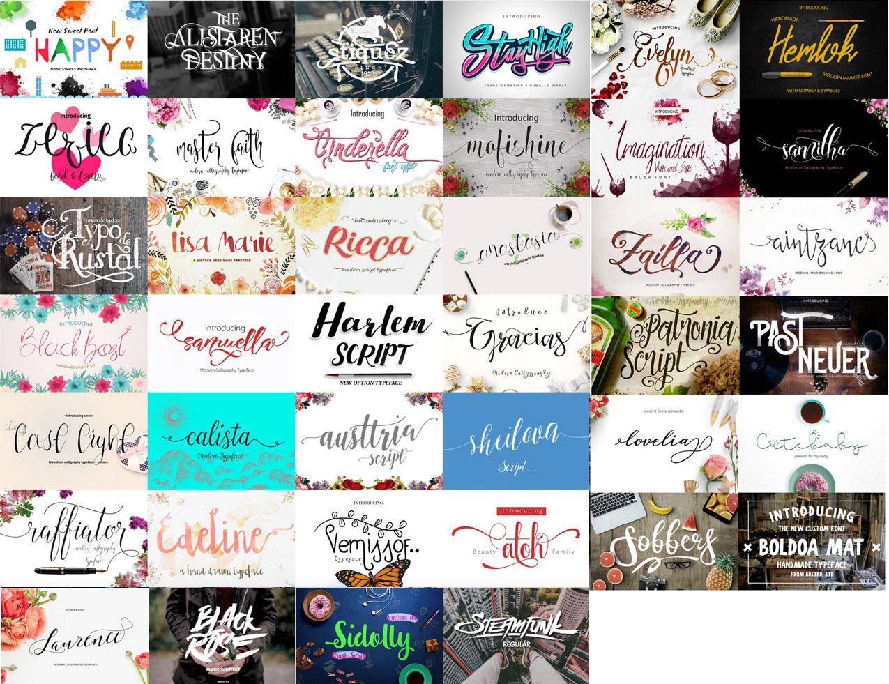 crafters font bundle details