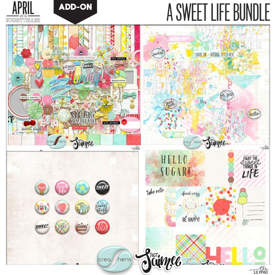 A Sweet Life Scrapbook Kit Bundle