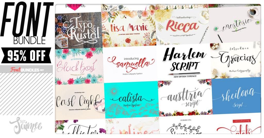 Crafters Font Bundle