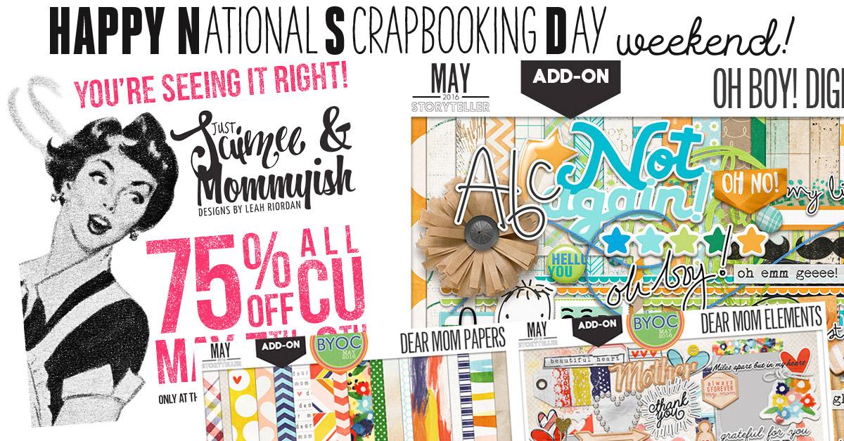 NSD National Scrapbooking Day