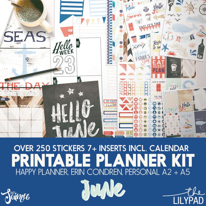 Planner Kit June