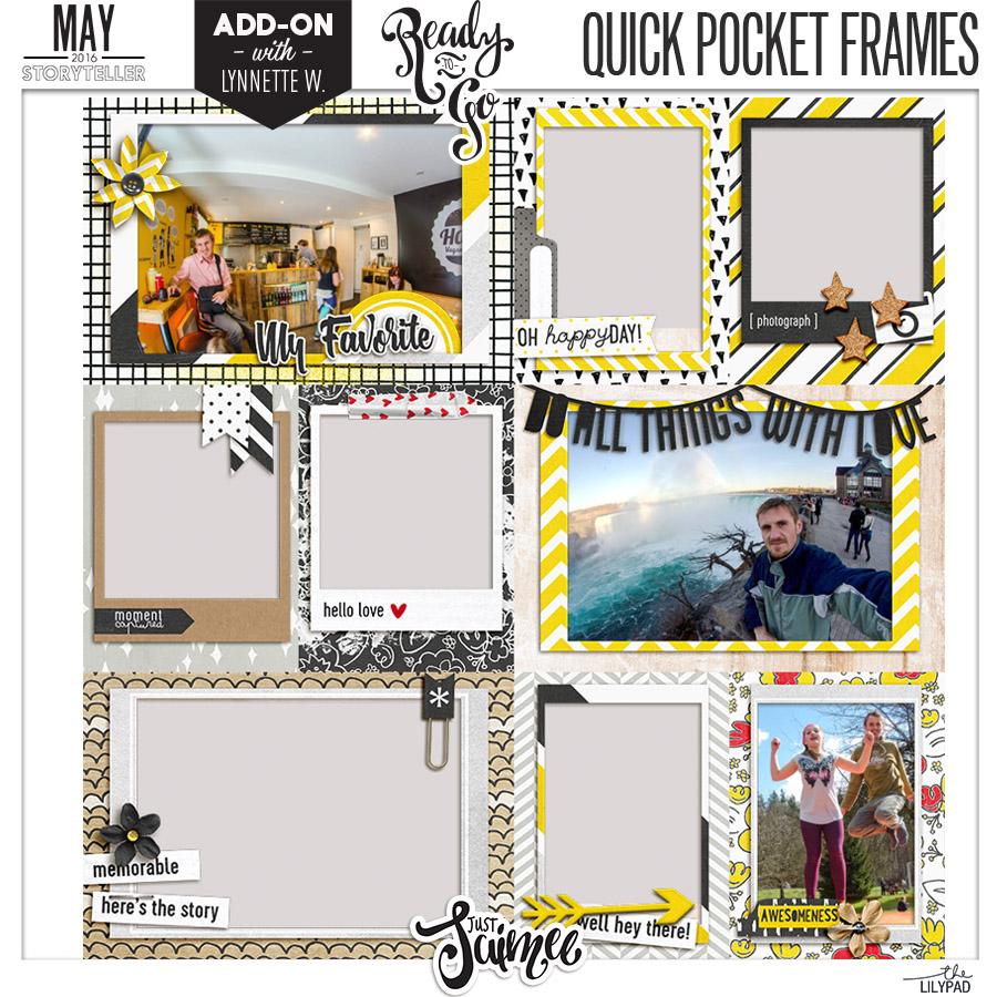 Quick Pocket Frames