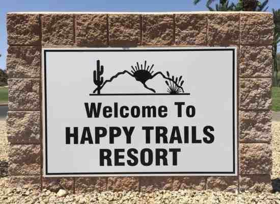 Welcome to Happy Trails Resort an Arizona 55 Plus Community