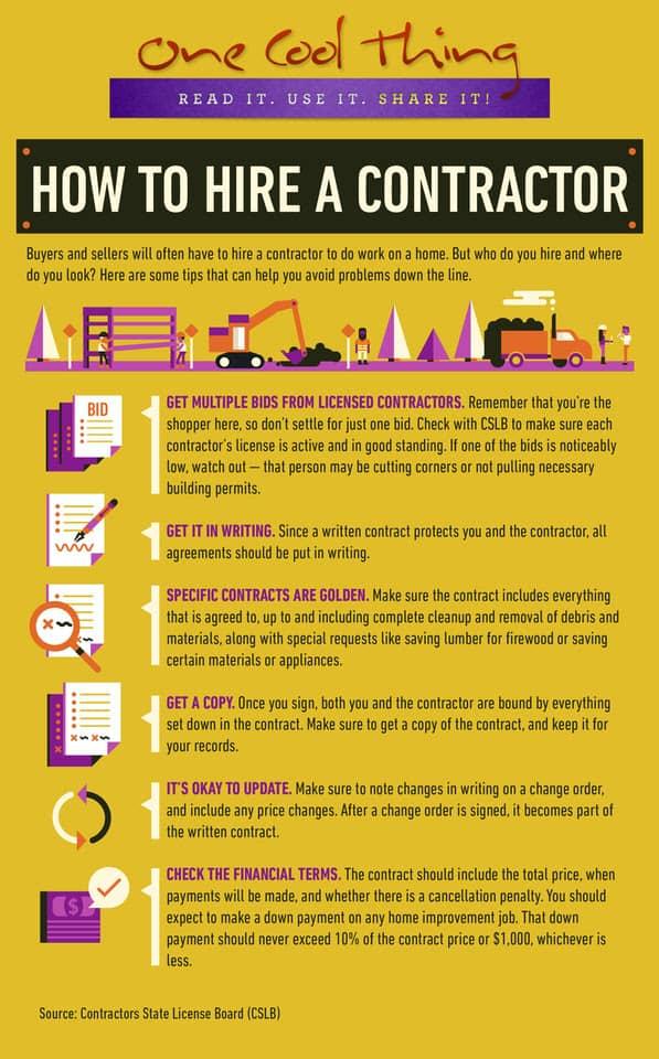 6 Tips For Hiring Contractors