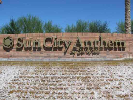 Welcome to Sun City Anthem 55 plus Retirement Communit