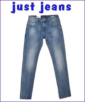 παντελονι τζιν ανδρικο οχι ελαστικο μπλε denim blue jean μοντερνο ξεβαμα ισια γραμμη 35