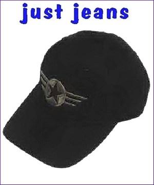 τζοκευ καπελο  μαυρο  με κεντημα αστερι βαμβακερο cotton jokey 14