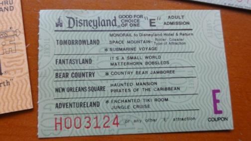 Disneyland E Ticket Best