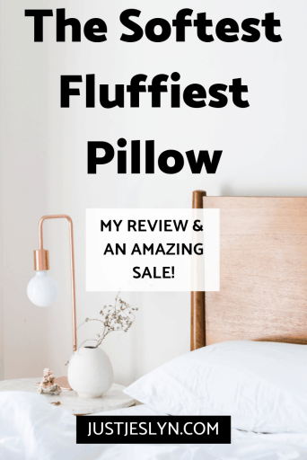 the softest fluffiest pillow review memorial day sale. save 20% on all savvy rest products