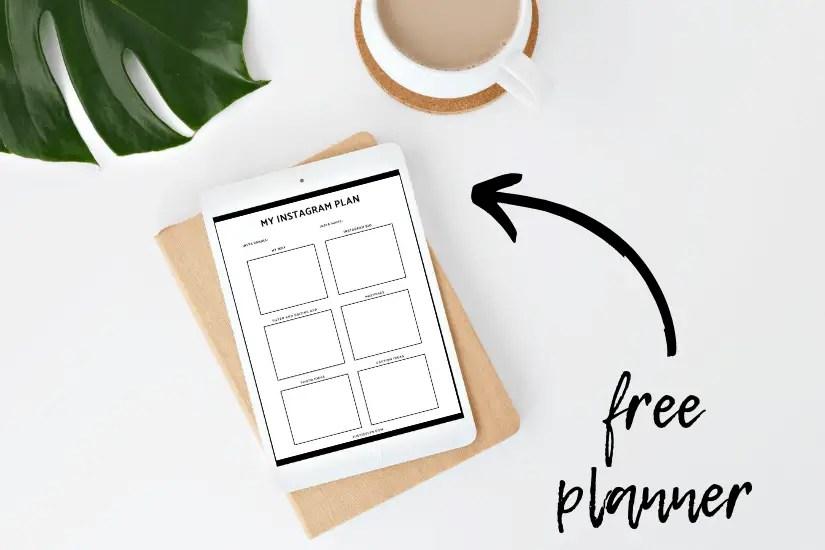 Free Instagram Planner