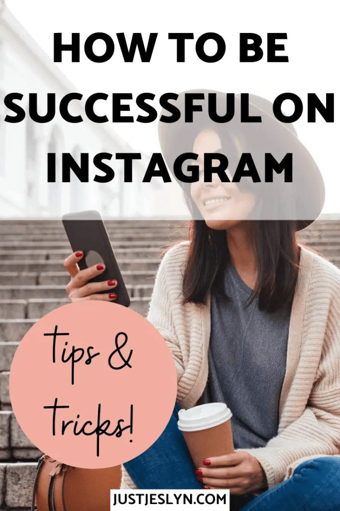 Instagram Tips & Tricks (+ FREE Instagram Planner!) | justjeslyn.com