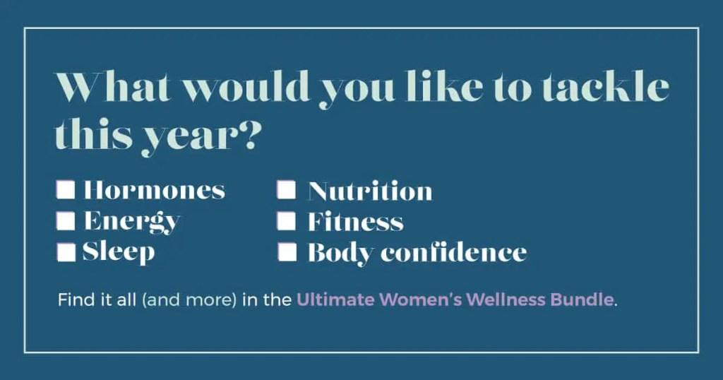 Ultimate Women's Wellness Bundle 2020 | justjeslyn.com
