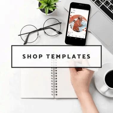 Shop Templates | justjeslyn.com